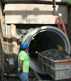 Capitol Tunneling Pipe Jacking Image 5